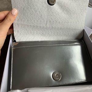 b6b25b1542b Dior Bags | Christian Ama Silver Microcannage Woc | Poshmark